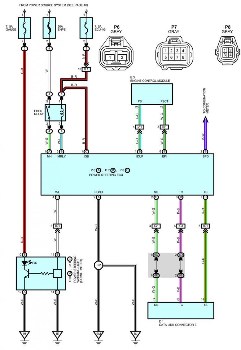 EHPS Conversion Redone   Honda / Acura K20a K24a Engine Forum   Volvo Power Steering Pump Wiring Diagram      K20A.org